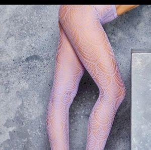 Blackmilk lilac flapper leggings mermaid limited